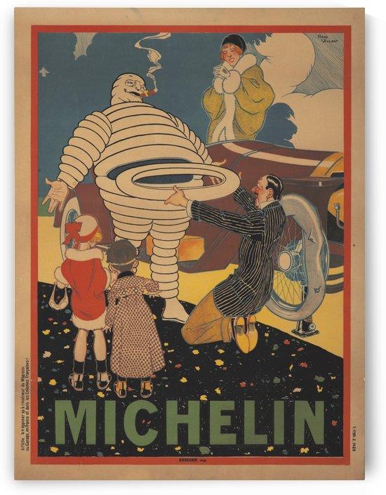 Michelin Pneu by VINTAGE POSTER