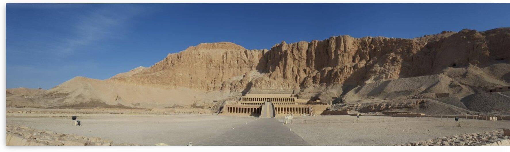 Egypt - Hatshepsut Temple by Sara Mikhail