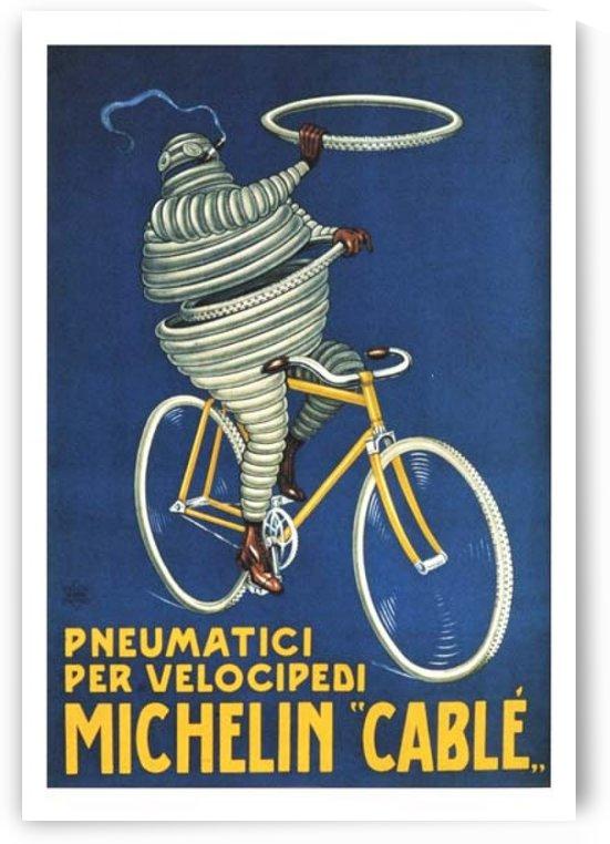 Pneumatici per Velocipedi by VINTAGE POSTER