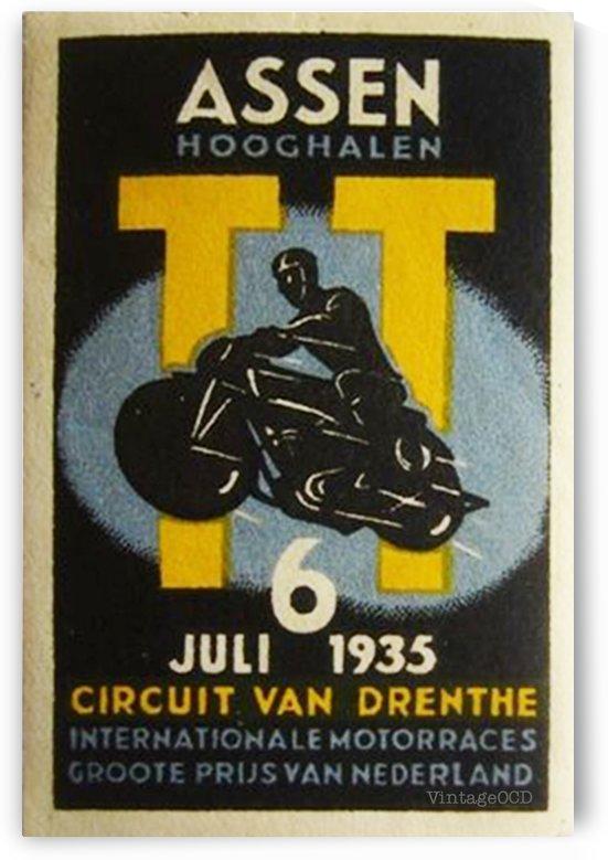 Nederlands Moto by VINTAGE POSTER
