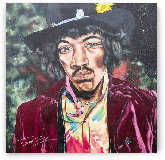 Jimi Hendrix - Supernatural by Artist Jones