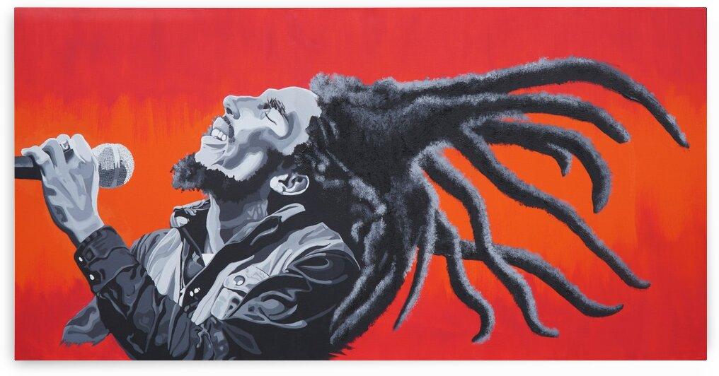Bob Marley by Artist Jones