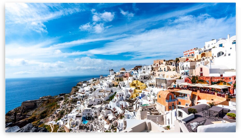 Afternoon in Santorini by Darryl Kelly