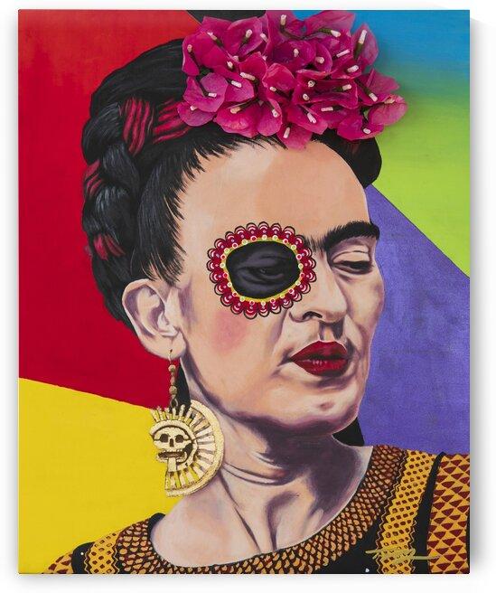 Frida Kahlo by Artist Jones