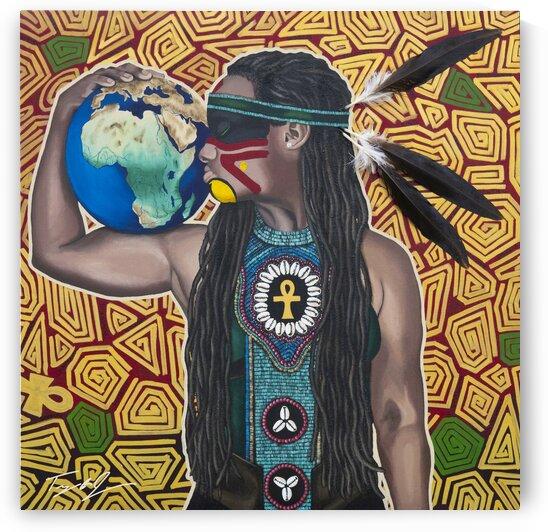 Warrior Rising by Artist Jones