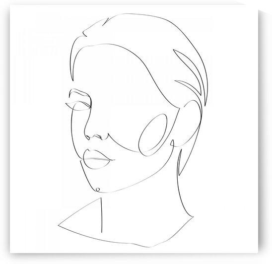 Woman III by Aquamarine