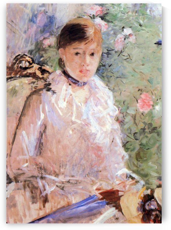 Summer (Young woman at the window) by Morisot by Morisot