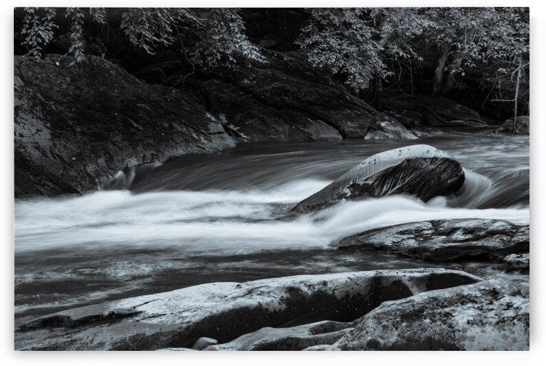 Slippery Rock Creek ap 1943 B&W by Artistic Photography