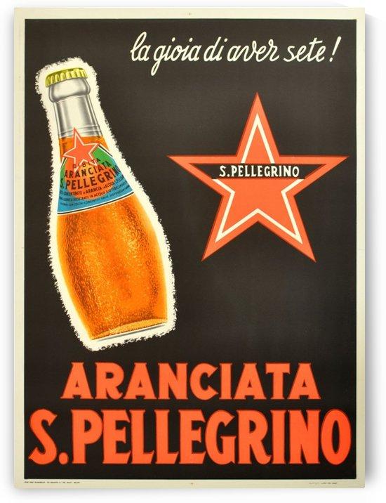 Aranciata S. Pellegrino by VINTAGE POSTER