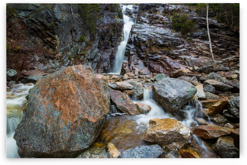 Silver Cascade Falls ap 2228 by Artistic Photography