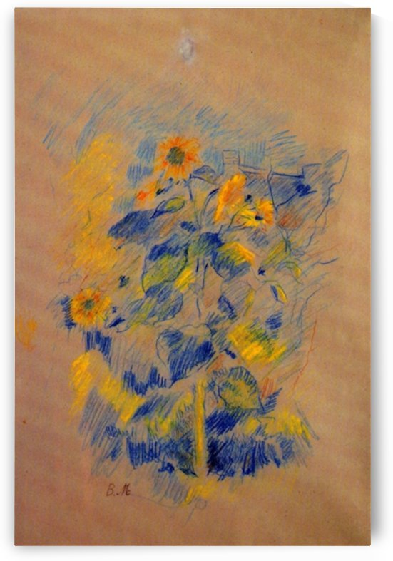 Sunflowers by Morisot by Morisot