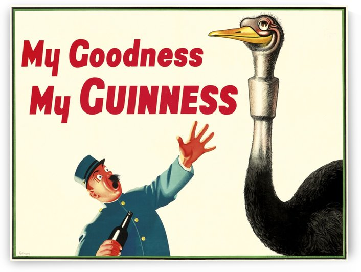 My Guiness by VINTAGE POSTER