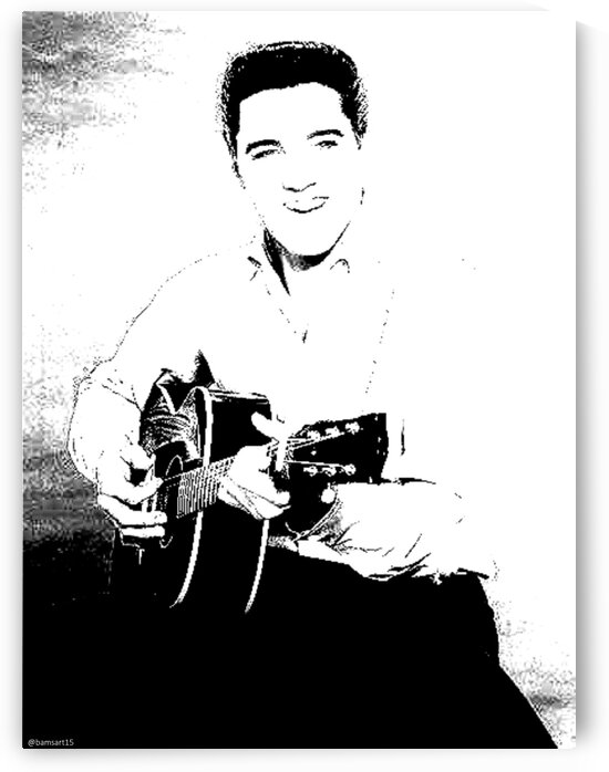 Elvis Presley by Bam Wilcox
