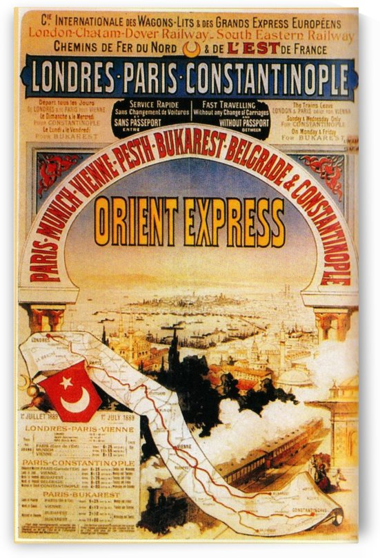 Orient Express by VINTAGE POSTER