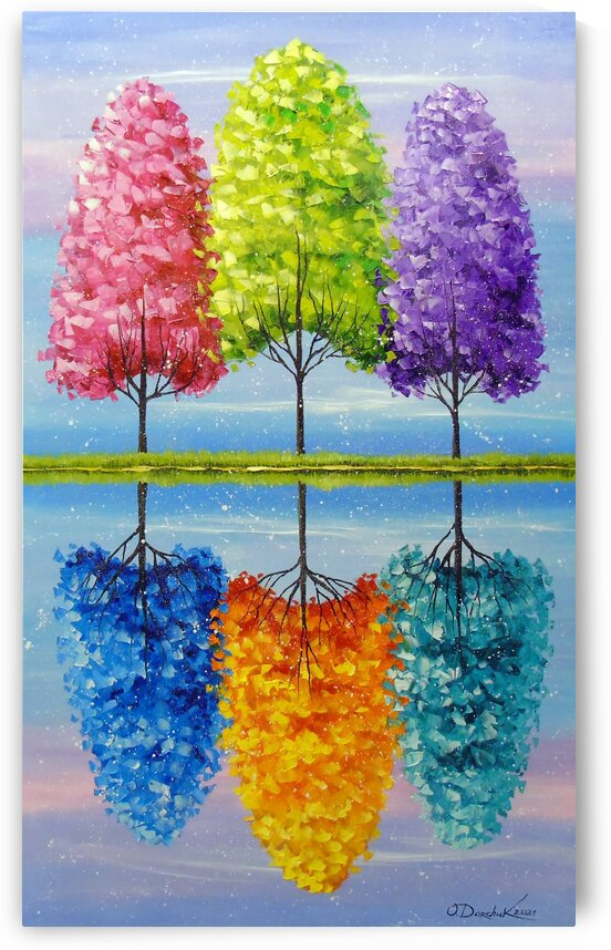 Each tree has a vibrant life by Olha Darchuk