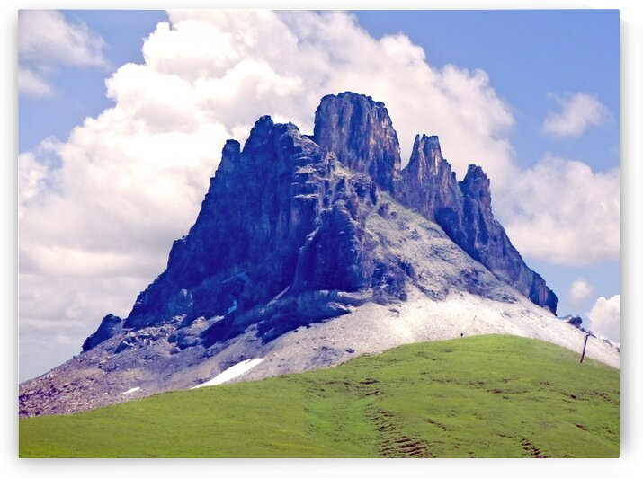 Mountain Peak in the Swiss Alps by 1North