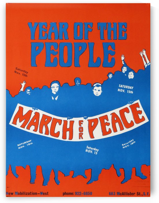 Year of the people by VINTAGE POSTER