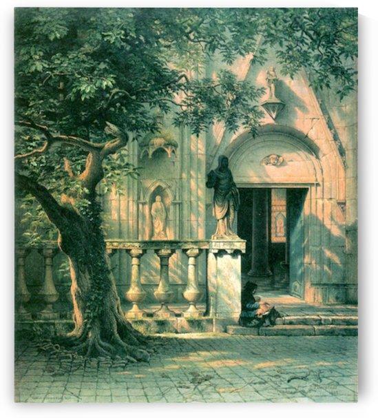 Sunlight and Shadow by Bierstadt by Bierstadt