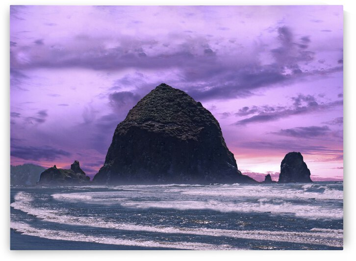 Cannon Beach at Sunset by 1North