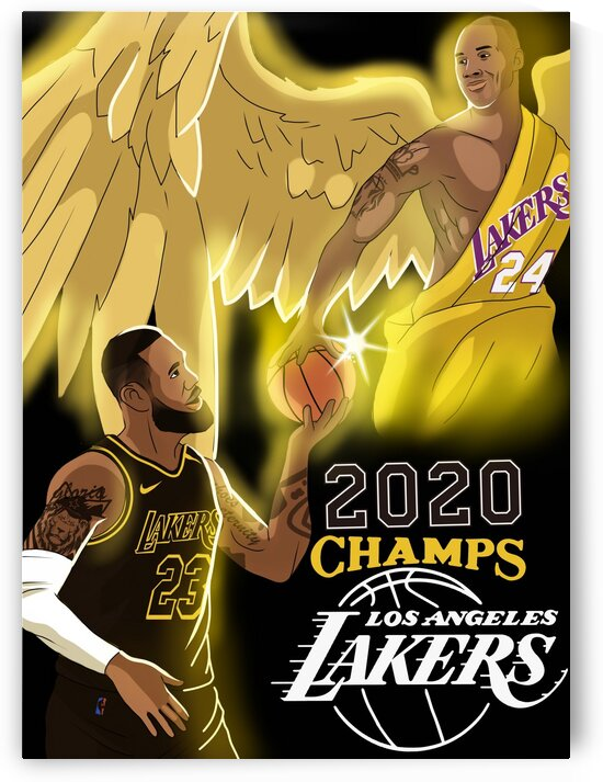 Lakers 2020 Black edition  by Master Lip