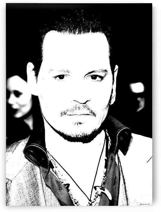 Johnny Depp by Bam Wilcox