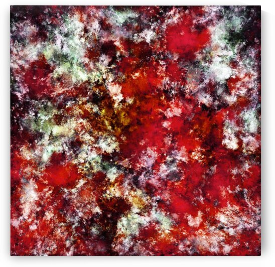 The red crying rocky surface by Keith Mills