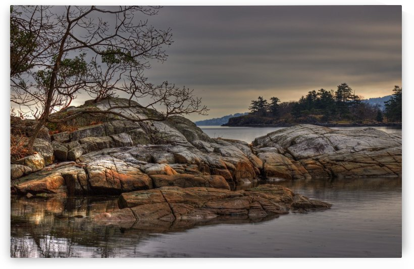 Tranquil Waters by Randy Hall by Randy Hall