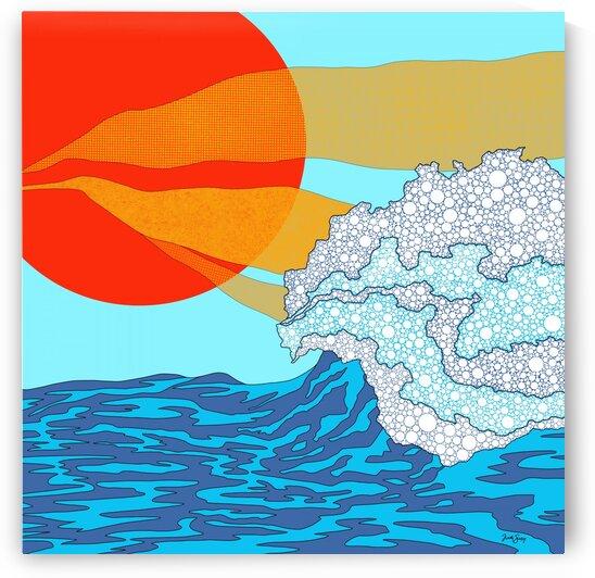 Sunstream signed by Trish Sierer