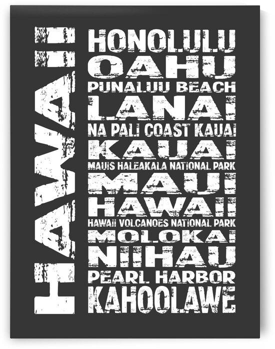 HAWAII Subway Art N2115 by Edit Voros
