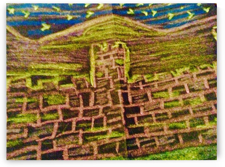 The Great Wall of China.            775128.6337 by Texture and colour