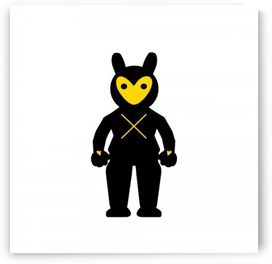 Black X Fighter by GABA