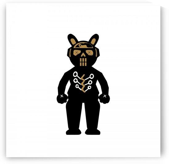 Skull Black Cozmo Fighter by GABA