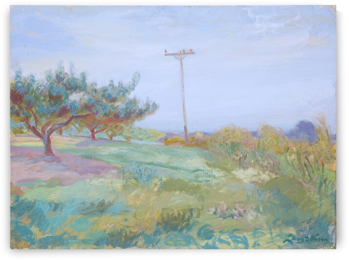 Orchard and Pole by Lacey Stinson