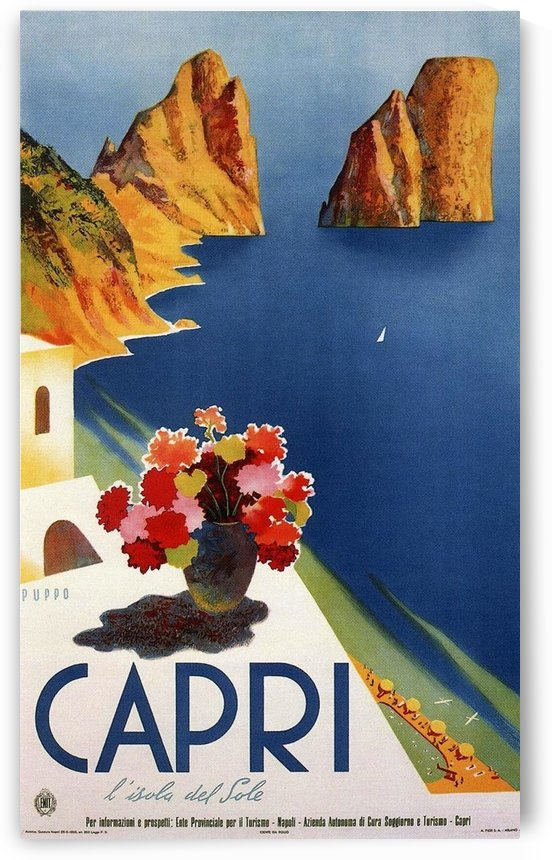 Vintage Capri by VINTAGE POSTER