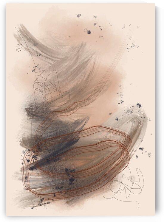 BROWN SKY by Candrika Silva Art