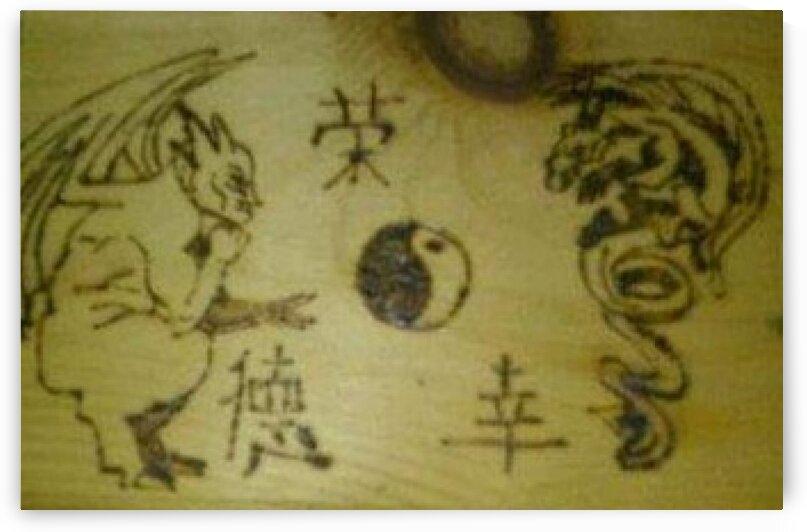 Gargoyle dragon by LIMITLESS INSPIRATION