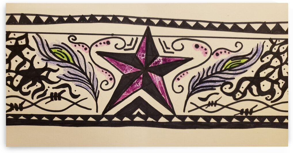 Tribal pattern by LIMITLESS INSPIRATION