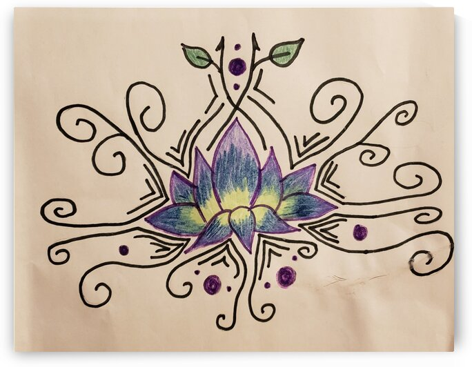 Lotus tribal by LIMITLESS INSPIRATION