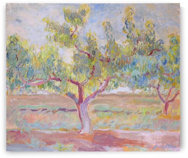 Red Clay Peach Tree by Lacey Stinson