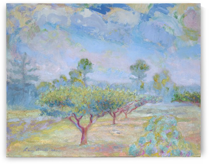 Plum Trees by Lacey Stinson