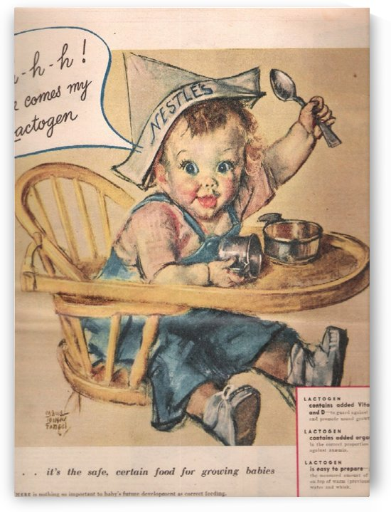 Nestle Baby Food by VINTAGE POSTER