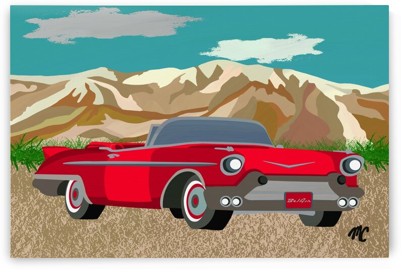 Chevy Bel Air by Mike Coble