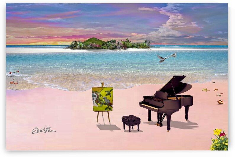 PINK BEACH by E D Killion