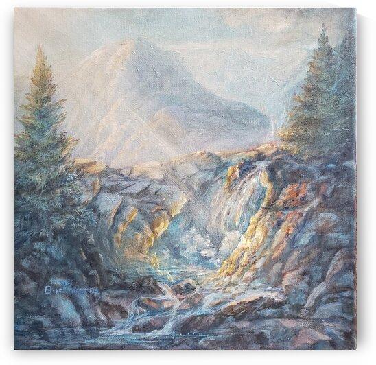 Sun-kissed Falls by Lynn Buckmaster