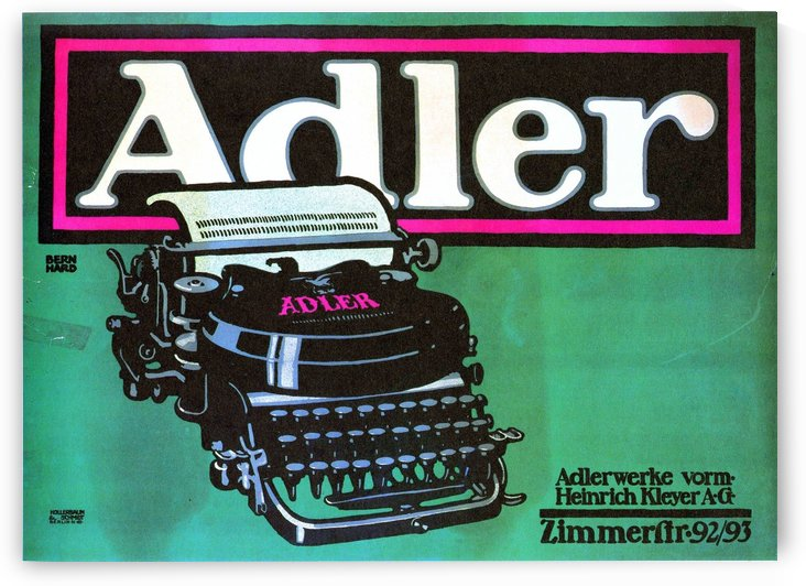 Adler by VINTAGE POSTER
