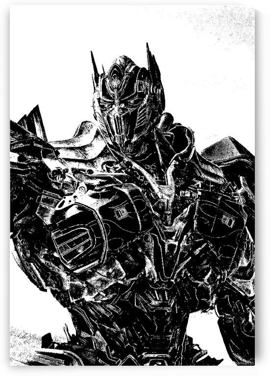 Optimus Prime by Bam Wilcox