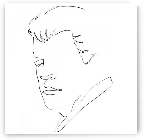 Male portrait by Aquamarine
