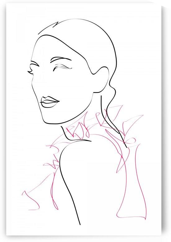 fashion woman VIII by Aquamarine