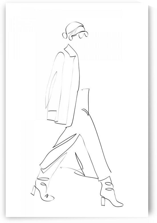 fashion woman VII by Aquamarine