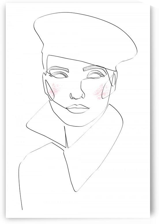 fashion woman IV by Aquamarine